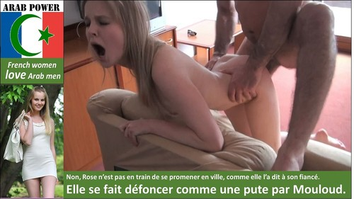 french girl fucked by arab