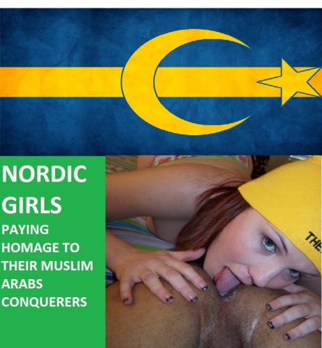 nordic girls arab men
