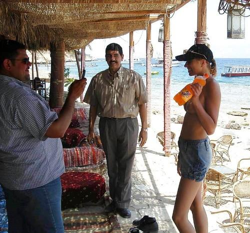 white slut for arab