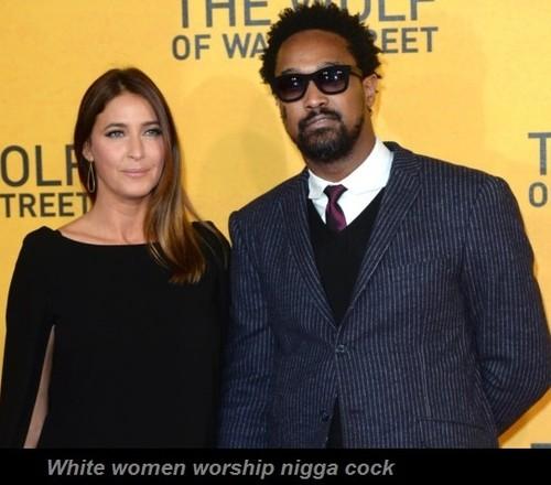 white girl worship black