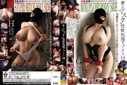 NITR190 Masked Masochistic Amateur Bitch is a Sex Processor 14