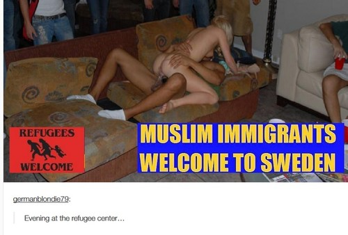 muslims fucking swedish girls