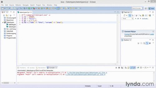 Perl 5 – Grundlagen Installation, Sprach und SyntaxElemente, Datenzugriff