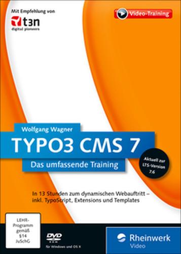 Rheinwerk  TYPO3 CMS 7 Das umfassende Training