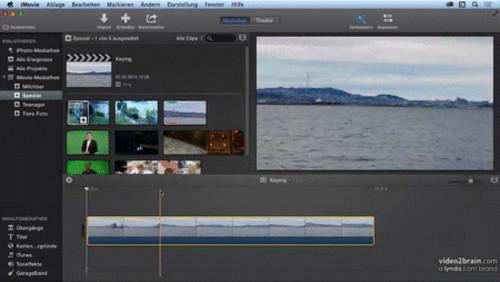 Videos bearbeiten mit iMovie Vom Import bis zur Ausgabe