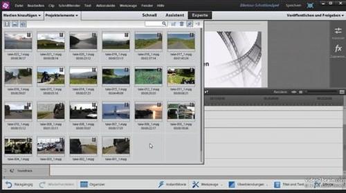 Videos bearbeiten mit Premiere Elements 12