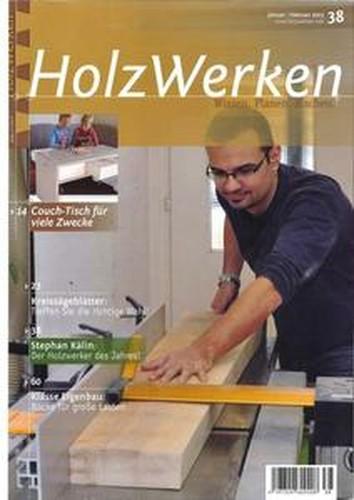HolzWerken No. 38 JanuarFebruar 2013