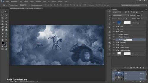 PSD Tutorials Composings in Photoshop
