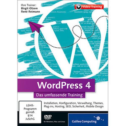 WordPress 4 Das umfassende Training