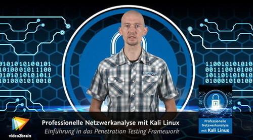 Video2Brain Professionelle Netzwerkanalyse mit Kali Linux
