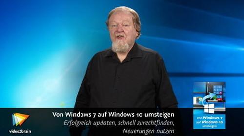 Video2Brain Von Windows 7 auf Windows 10 umsteigen