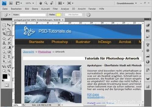 PSD Tutorials PhotoshopWorkshopDVD Basics & Tricks