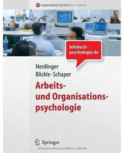 Arbeits und Organisationspsychologie [Repost]