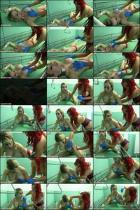 HuCows 15 09 12 Chessie Kay Gets Prepared For Milking  1080p MP4