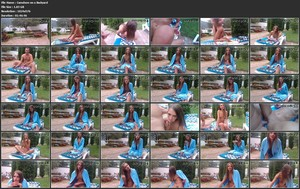 Amateurs Mike and Skinny Adda - Camshow on a Backyard [SD 576p]