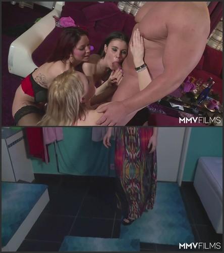Natalie Hot, Bebiii Kitty, Arianna   Kinky Party People Mp4